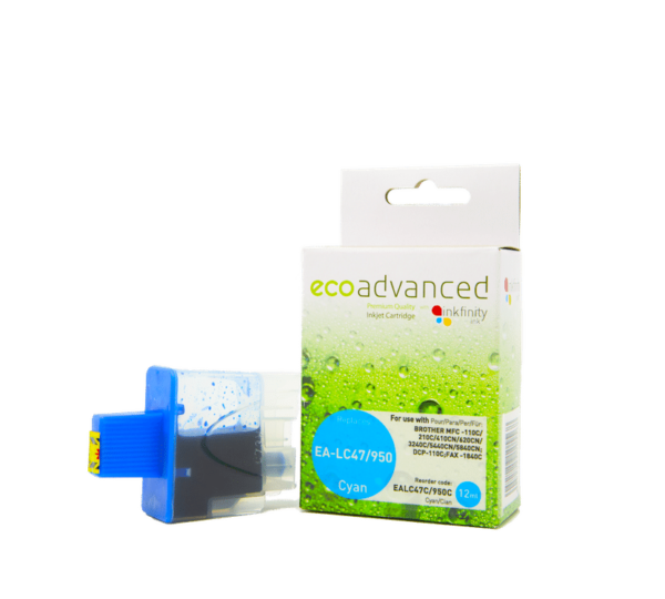 EcoAdvanced Brother LC47 Cyan Ink Cartridge