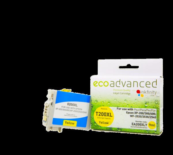 EcoAdvanced Epson 200XL Yellow Ink Cartridge