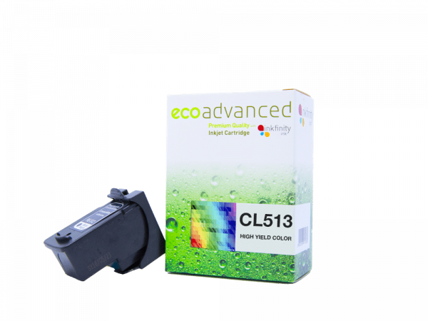 EcoAdvanced Canon CL513 High Yield  Tri-Colour