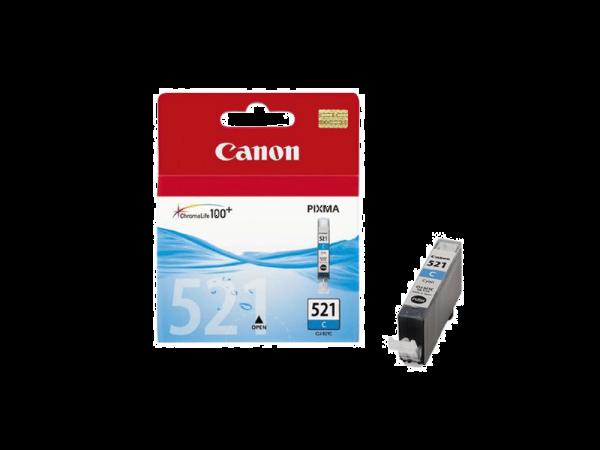 Genuine Canon CLI521 Cyan