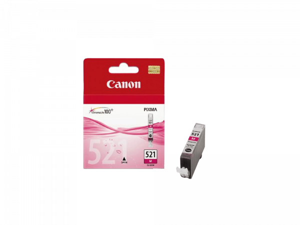 Genuine Canon CLI521 Magenta Ink Cart