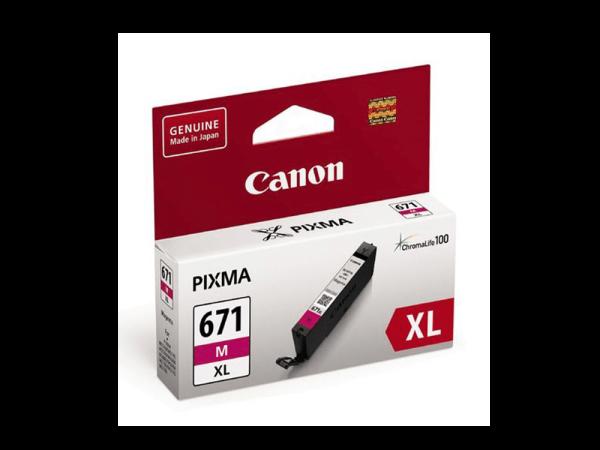 Genuine Canon CLI671 XL Magenta