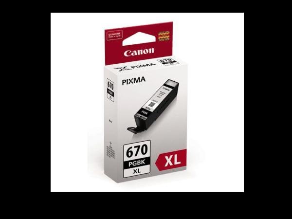 Genuine Canon PGI670 XL Black