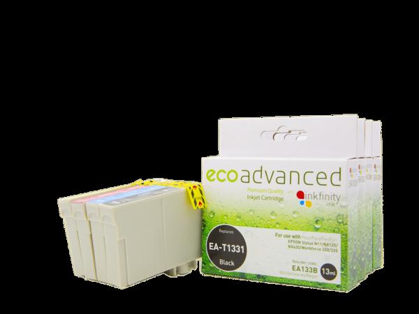 EcoAdvanced Epson 133   B /C/M/Y  Rainbow Pack