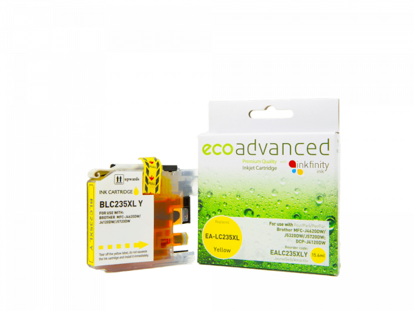 EcoAdvanced Brother LC235 XL Yellow