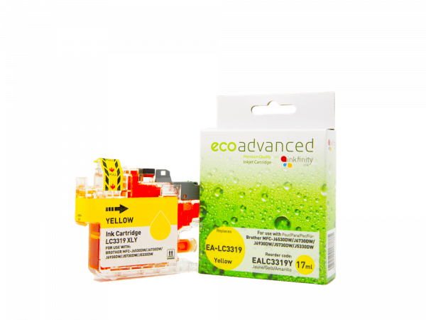 EcoAdvanced Brother LC3319 XL Yellow