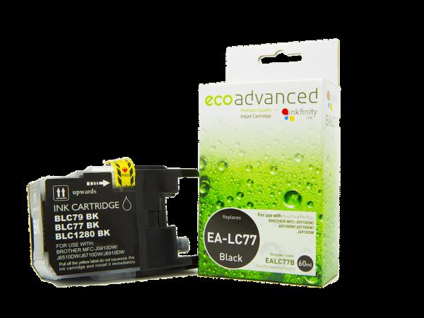 EcoAdvanced Brother LC77 XL Black