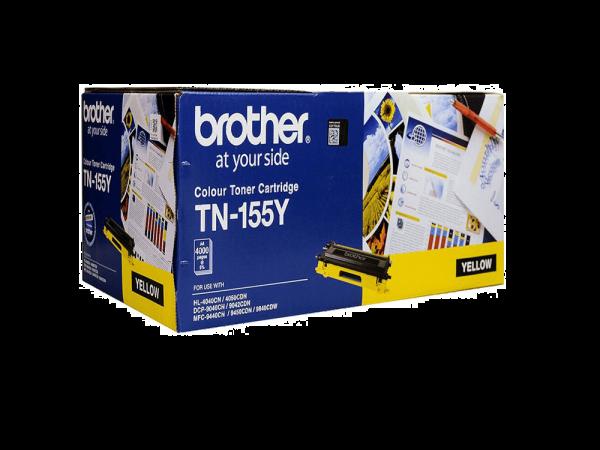 Brother TN155 Yellow Toner Cartridge