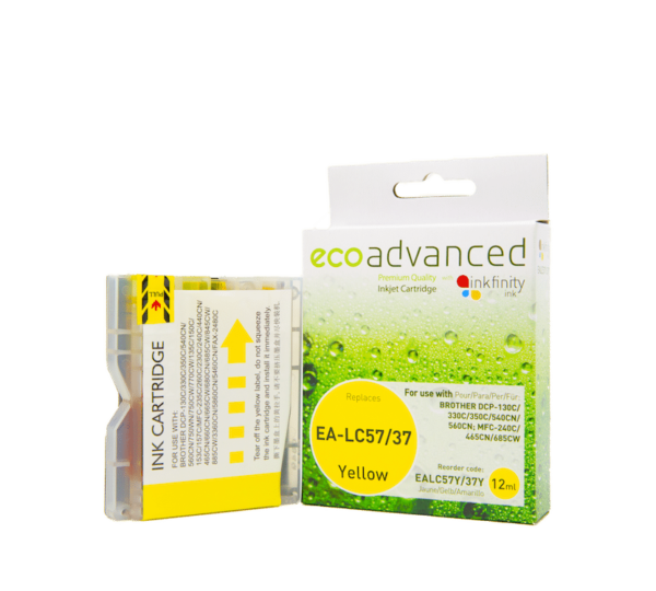 EcoAdvanced Brother LC37/57 Yellow