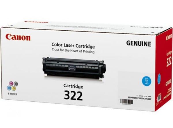 Genuine Canon CART322 Cyan Toner
