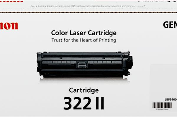 Genuine Canon CART322 XL Magenta Toner