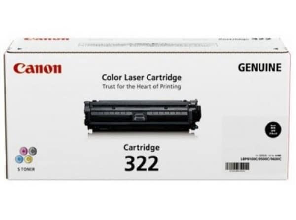 Genuine Canon CART322 Black Toner