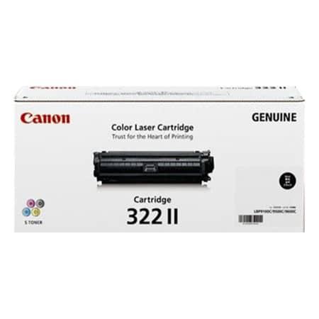 Genuine Canon CART322 XL Black Toner