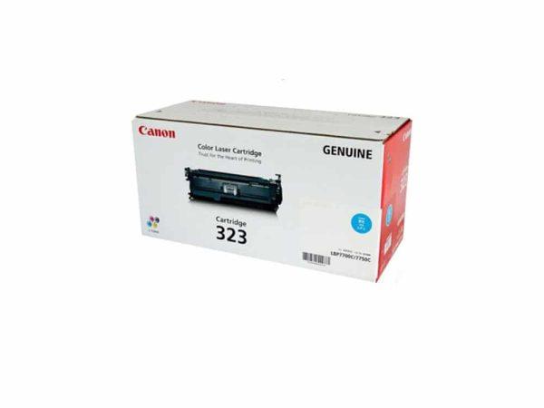 Genuine Canon CART323 Cyan Toner