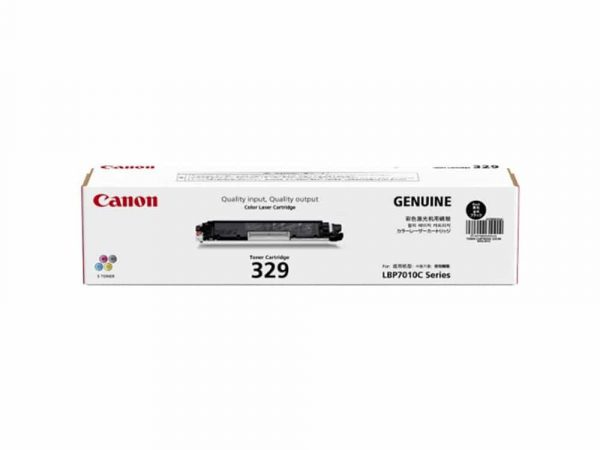 Genuine Canon Cart329 Black Toner
