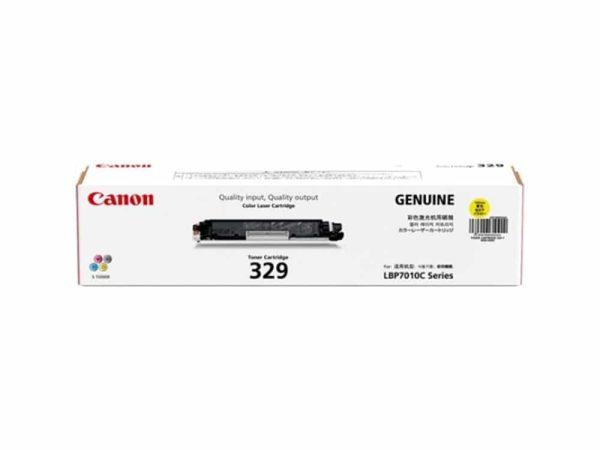 Genuine Canon CART329 Yellow Toner