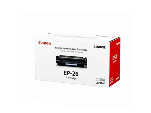 Genuine Canon EP26 Black Toner