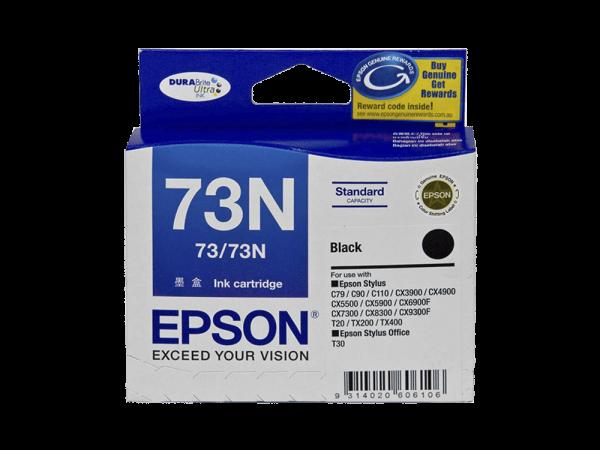 Genuine Epson 73N Black