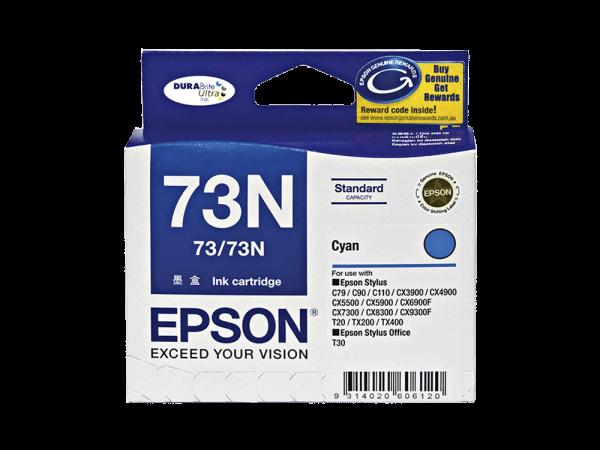 Genuine Epson 73N Cyan