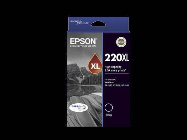 Genuine Epson 220 XL Black
