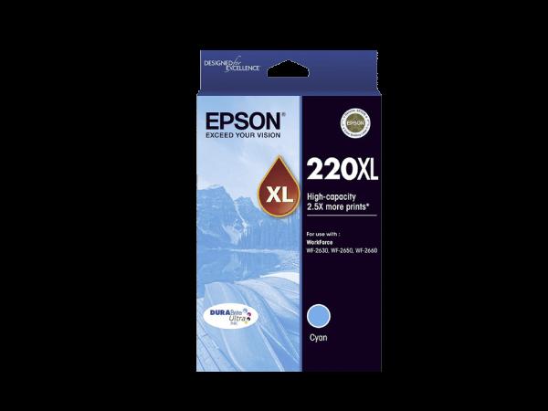 Genuine Epson 220 XL Cyan
