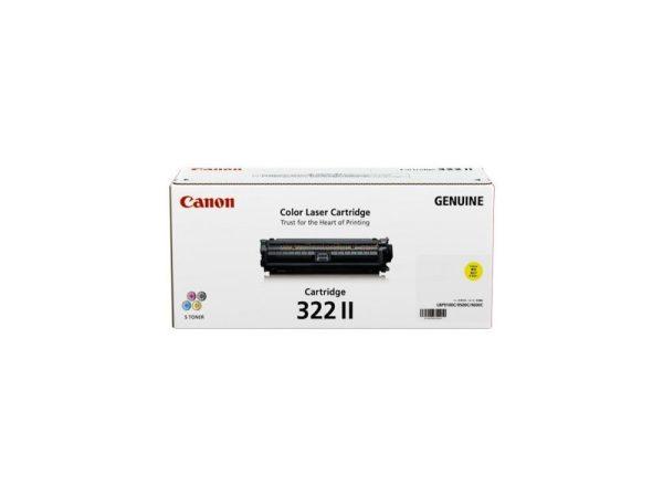 Genuine Canon CART322 XL Yellow Toner