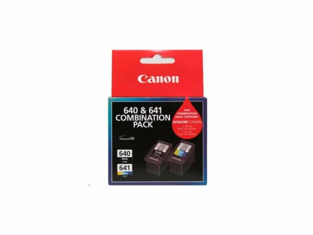 Genuine Canon PG640 + CL641 Combo pack (180 pgs)