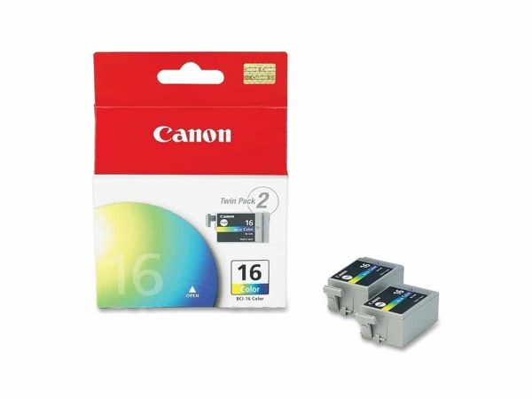Canon BCI16 Twin Pack Tri-Colour