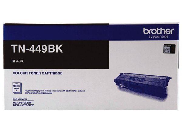 Genuine Brother TN449 Black Toner