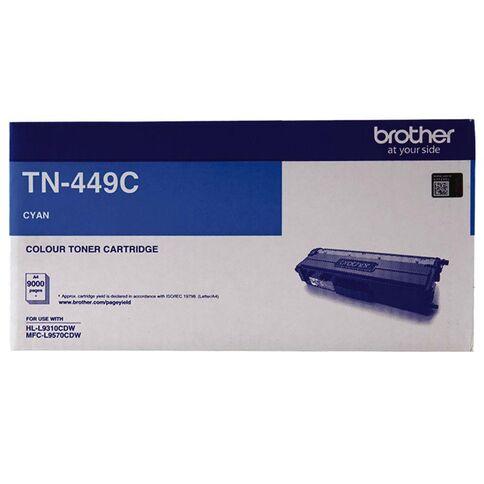 Genuine Brother TN449 Cyan Toner