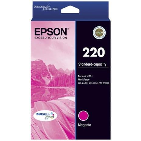 Genuine Epson 220 Std Magenta