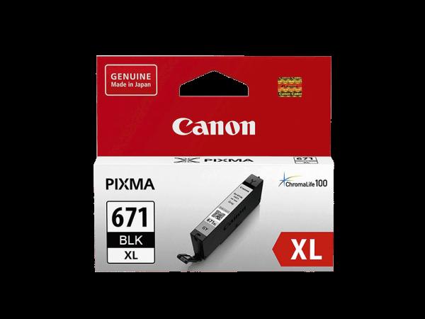 Genuine Canon CLI671 XL Black