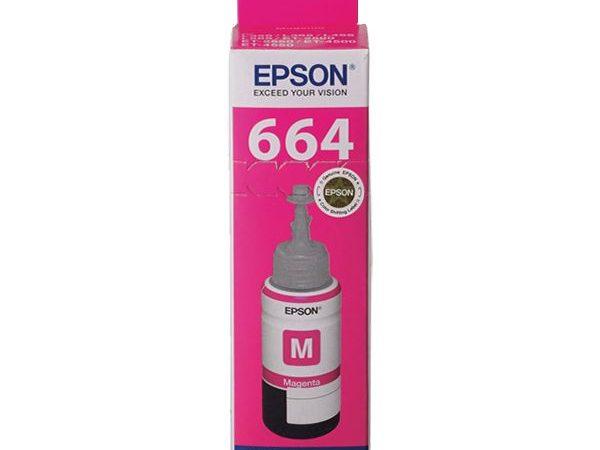 Genuine Epson T664 – Magenta