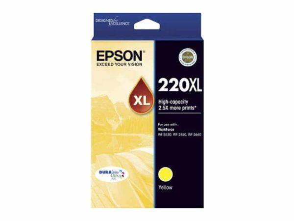 Genuine Epson 220 XL Yellow