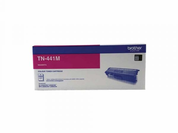 Genuine Brother TN441 Standard Capacity Magenta Toner