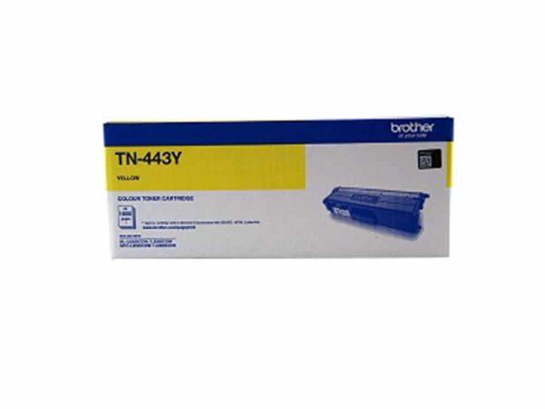 Genuine Brother TN443Y High Capacity Yellow Toner