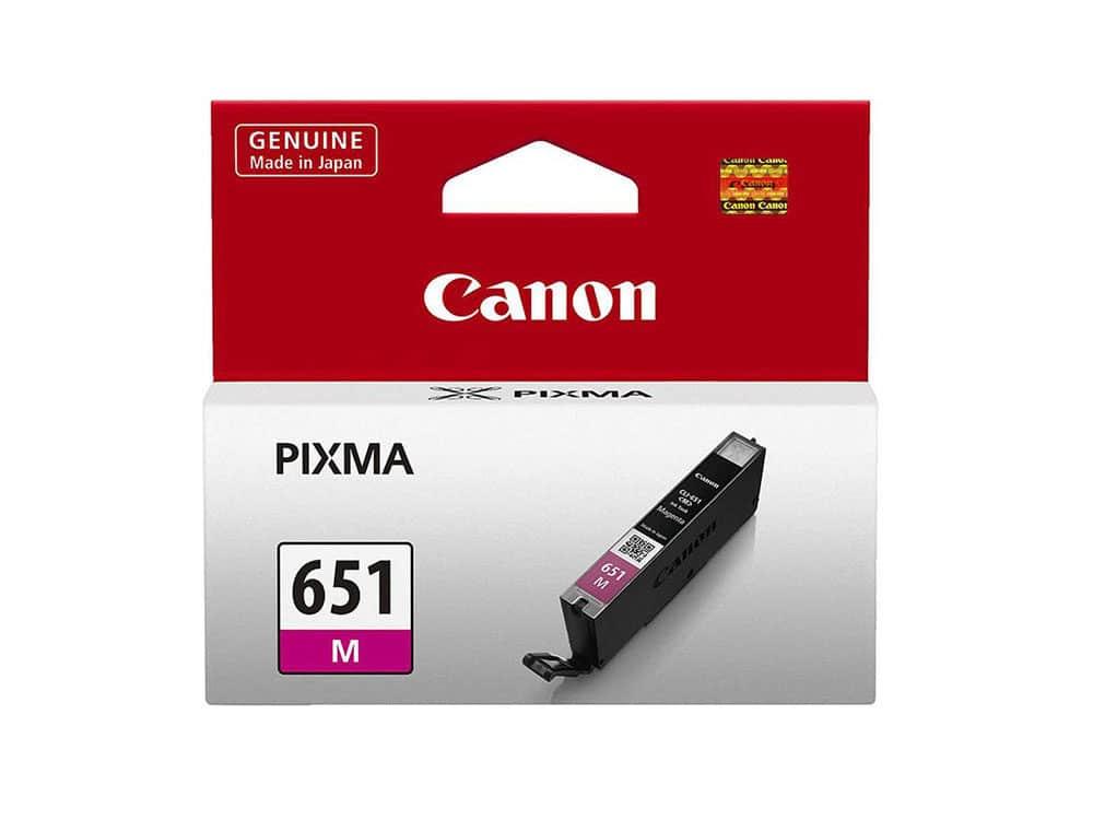 Genuine Canon CLI651M Magenta Ink
