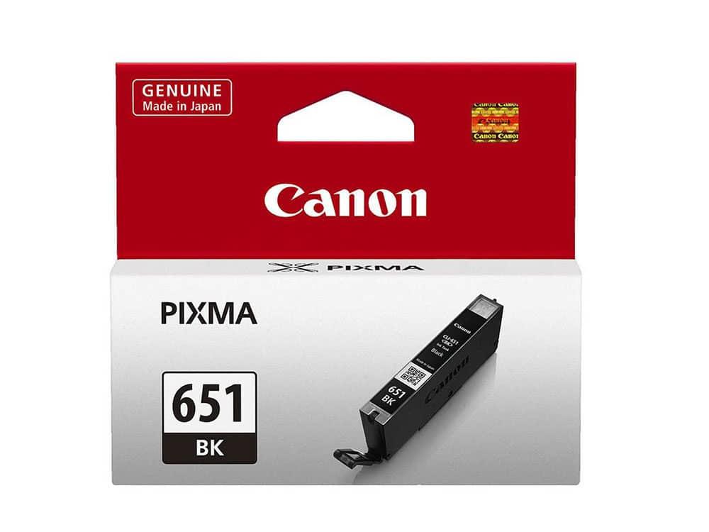 Genuine Canon CLI651XLBK Hi Capacity Photo Black Ink
