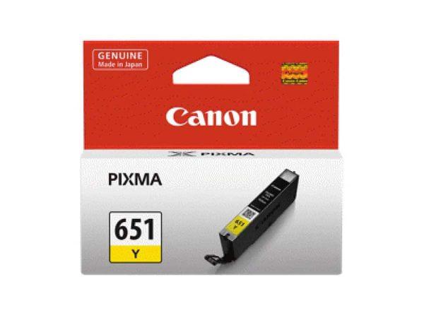 Genuine Canon CLI651 Yellow