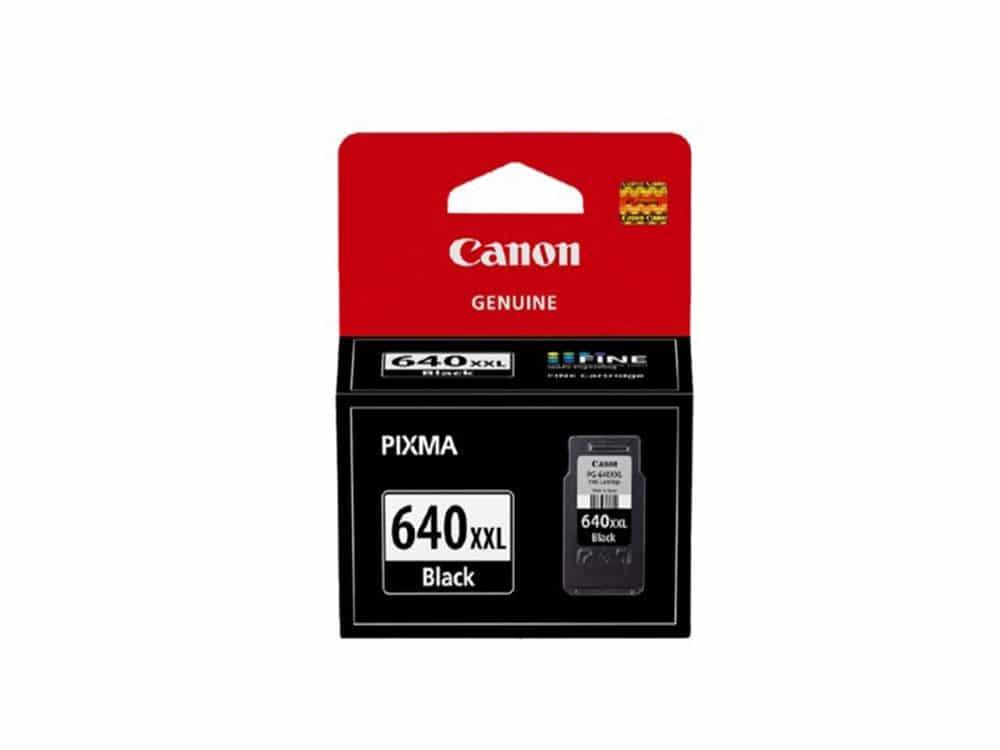 Genuine Canon PG-640XXL Extra High Yield Black Cartridge