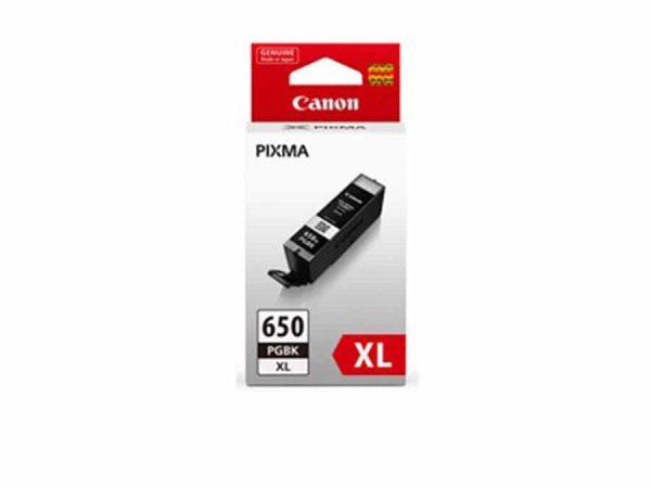 Genuine Canon PGI-650XLPGBK Hi Capacity Black Ink