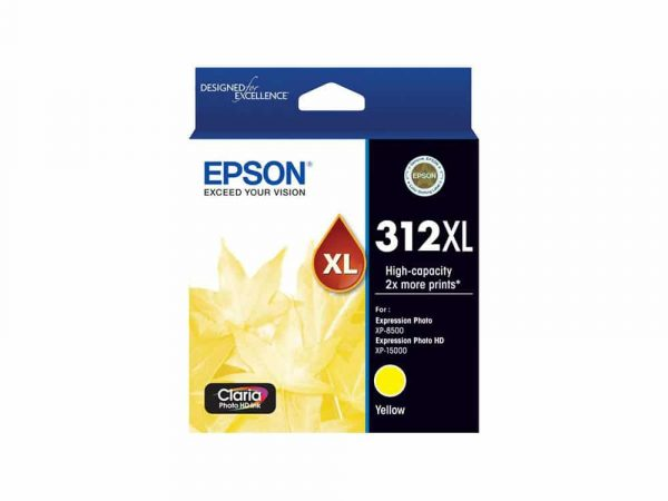 Genuine Epson 312 XL Yellow