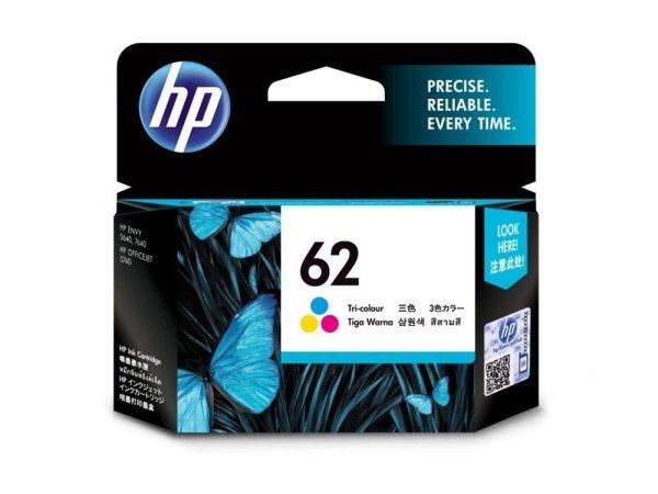 Genuine HP 62 Colour Cartridge