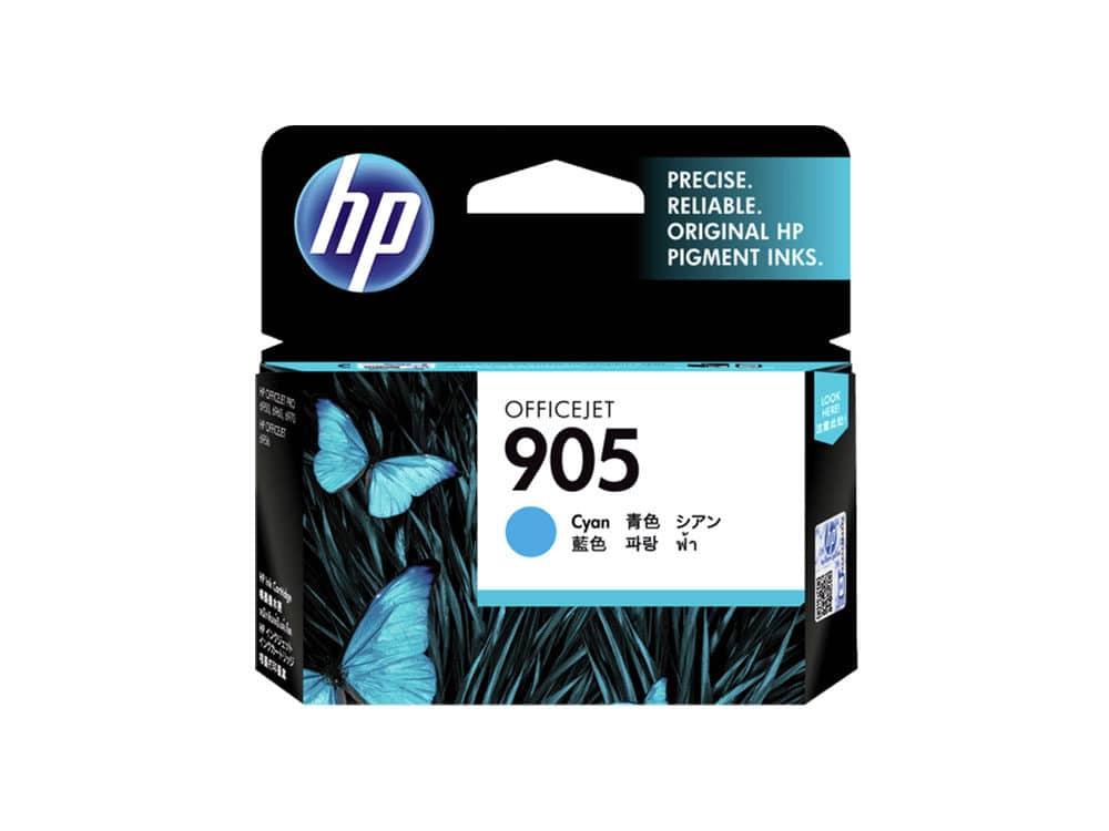Genuine HP 905 Cyan Ink Cartridge