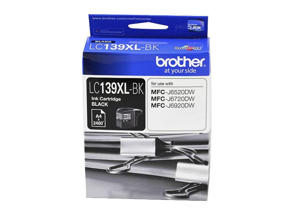 Genuine Brother LC139XLBK Hi Yield Black Ink Cartridge