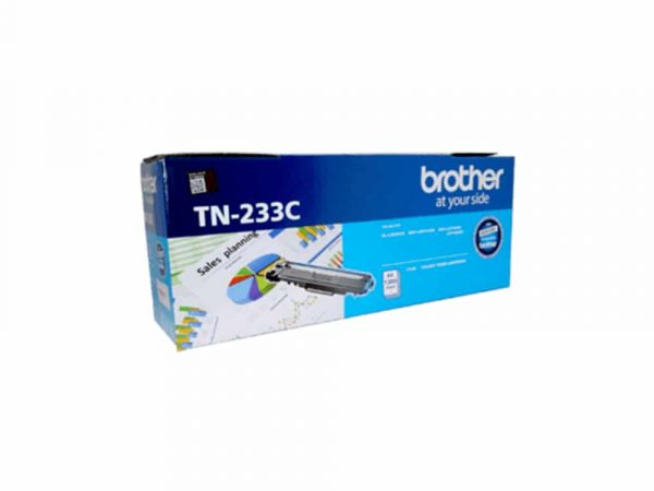 Genuine Brother TN233 Cyan Toner