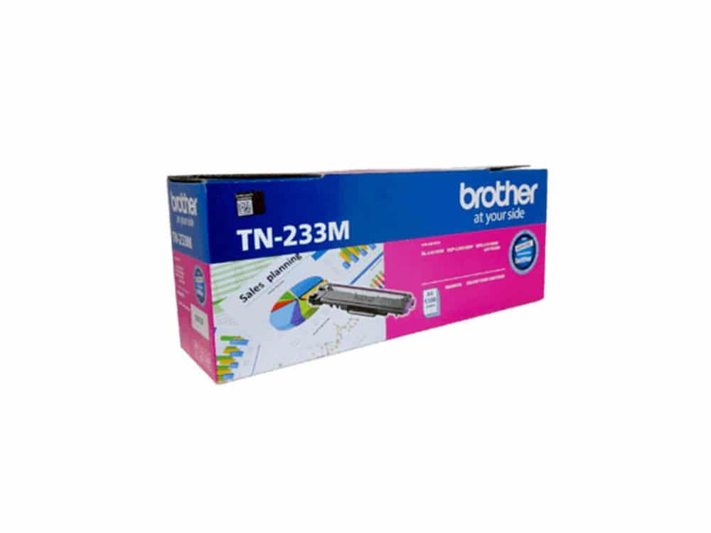 Genuine Brother TN233 Magenta Toner