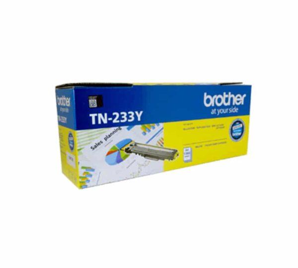 Genuine Brother TN233 Yellow Toner