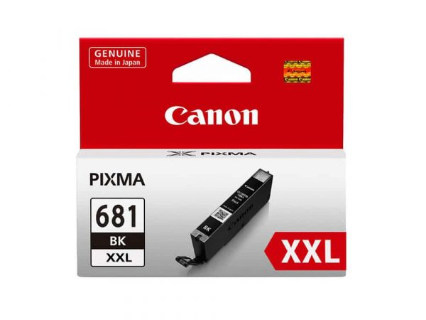 Genuine Canon CLI681XXLBK Extra High Yield Black Ink