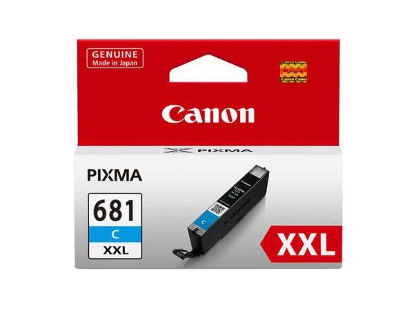 Genuine Canon CLI681XXLC Extra High Yield Cyan Ink